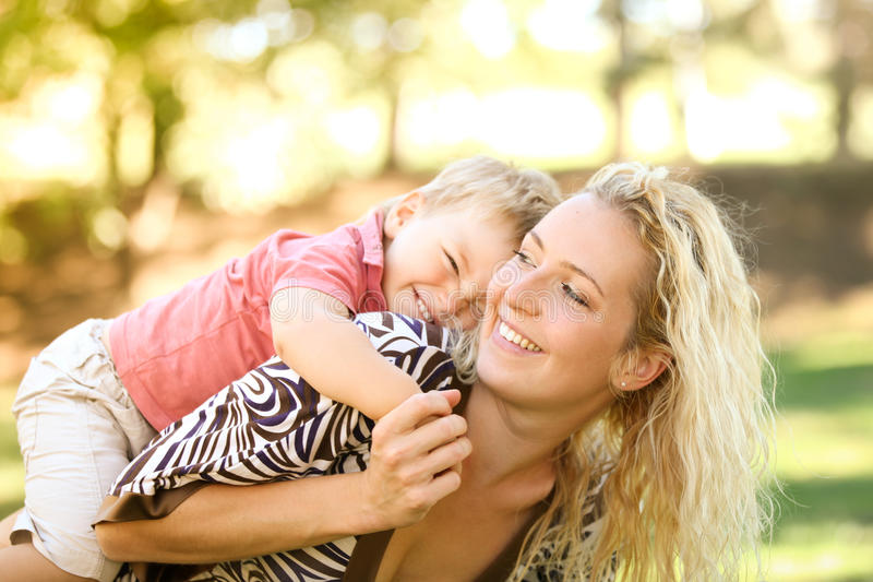 Download Mother and son stock image. Image of light, smile, cute - 26622533