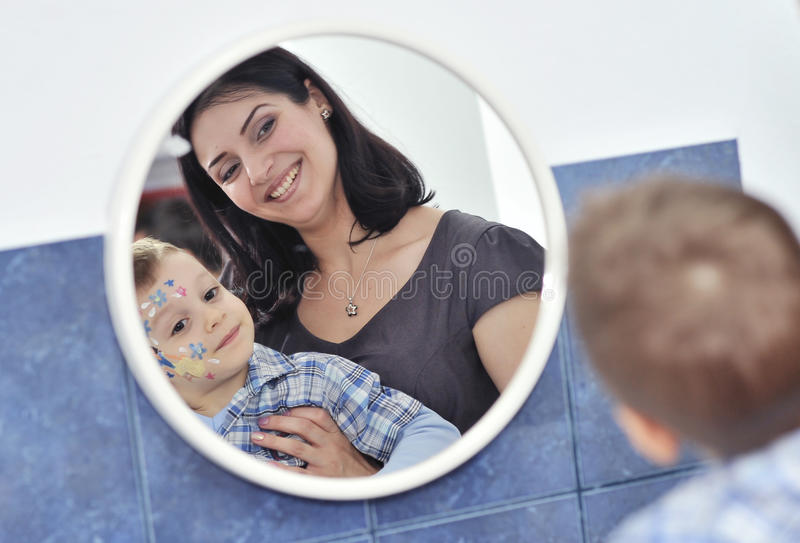 Download Mother And Son Royalty Free Stock Image - Image: 27547556
