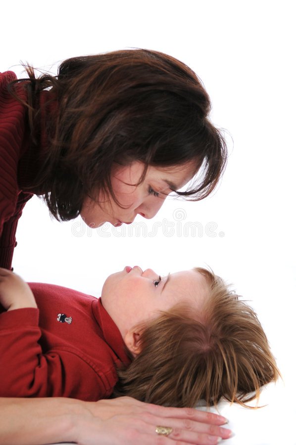 Download Mother and son stock photo. Image of education, handicapped - 3847020