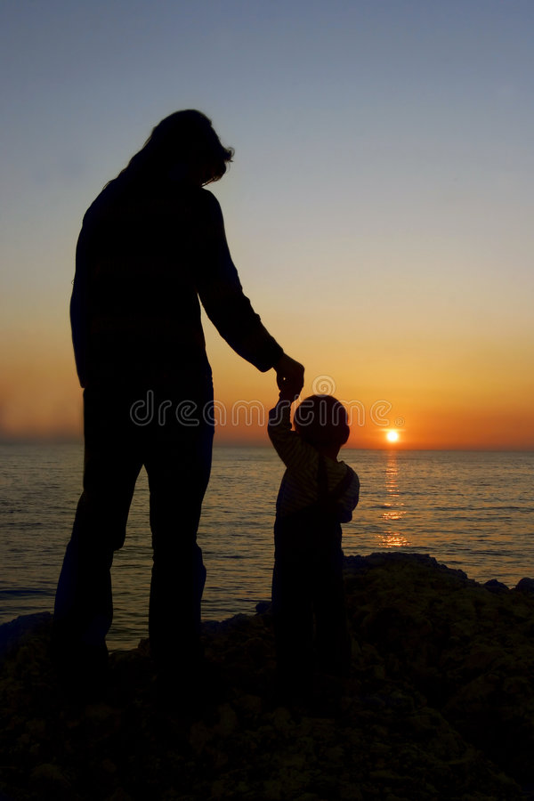 Download Mother and son stock image. Image of bonding, parenting - 5186949