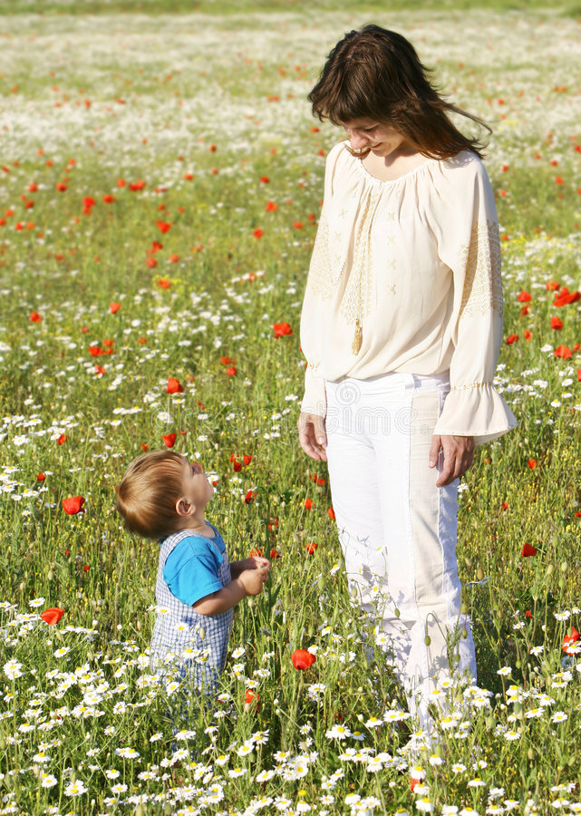 Download Mother with son stock photo. Image of love, parent, portrait - 5275294