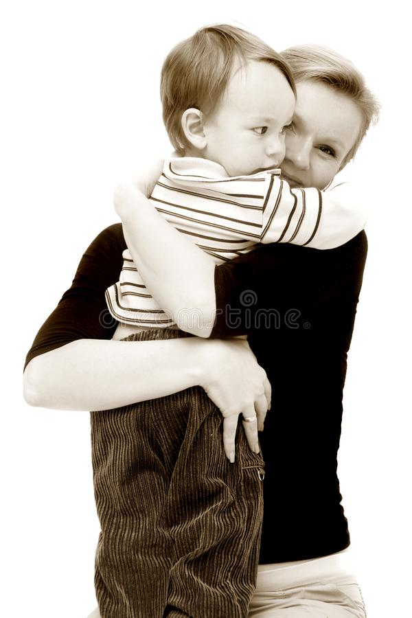 Download Mother and son stock image. Image of preschooler, european - 8791353