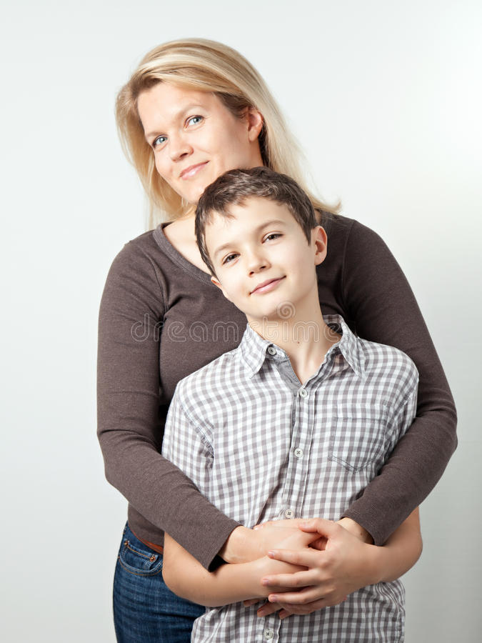 Download Mother and Son stock photo. Image of male, young, white - 36670256
