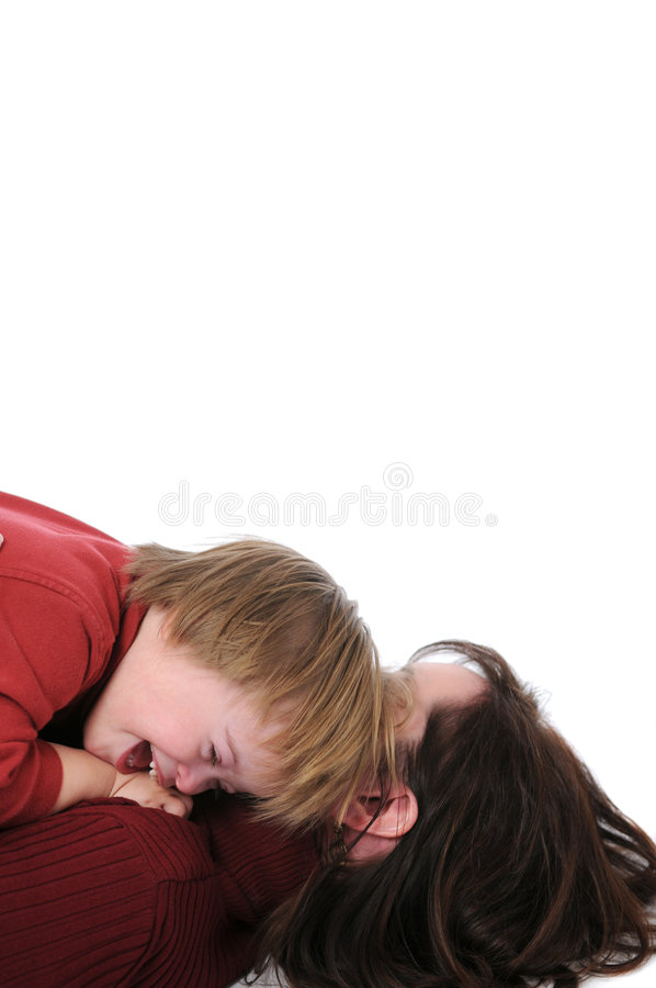 Download Mother and son laghing stock image. Image of nature, intelligence - 3847021