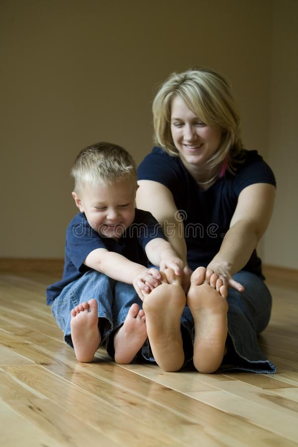 Download Mother And Son Playing Stock Image - Image: 14845211