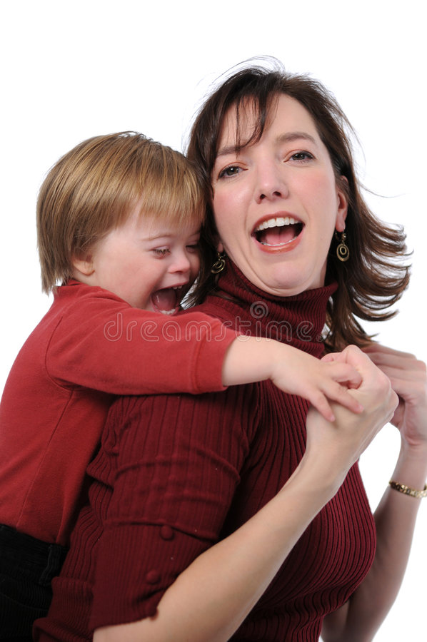 Download Mother and son playing stock photo. Image of ideas, childhood - 3847024
