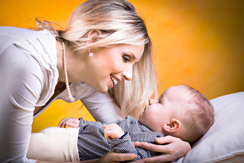 Download Mother And Son Portrait Royalty Free Stock Photography - Image: 23234587