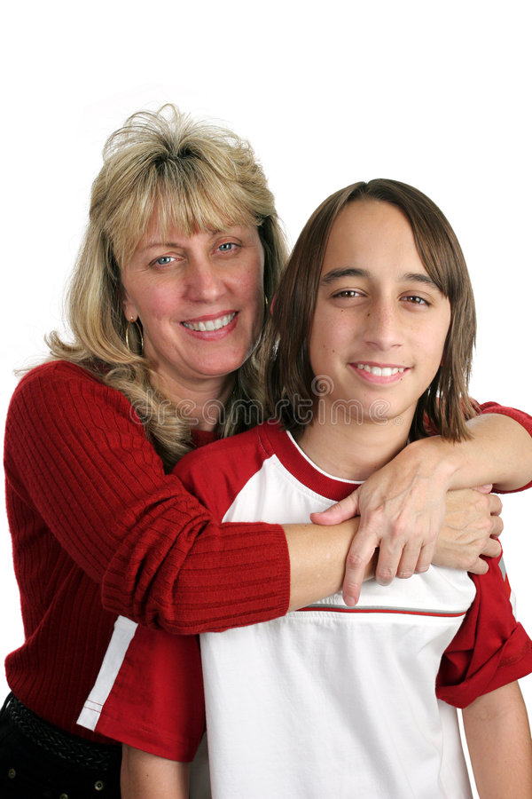 Download Mother Son Portrait stock photo. Image of hugging, love - 421488