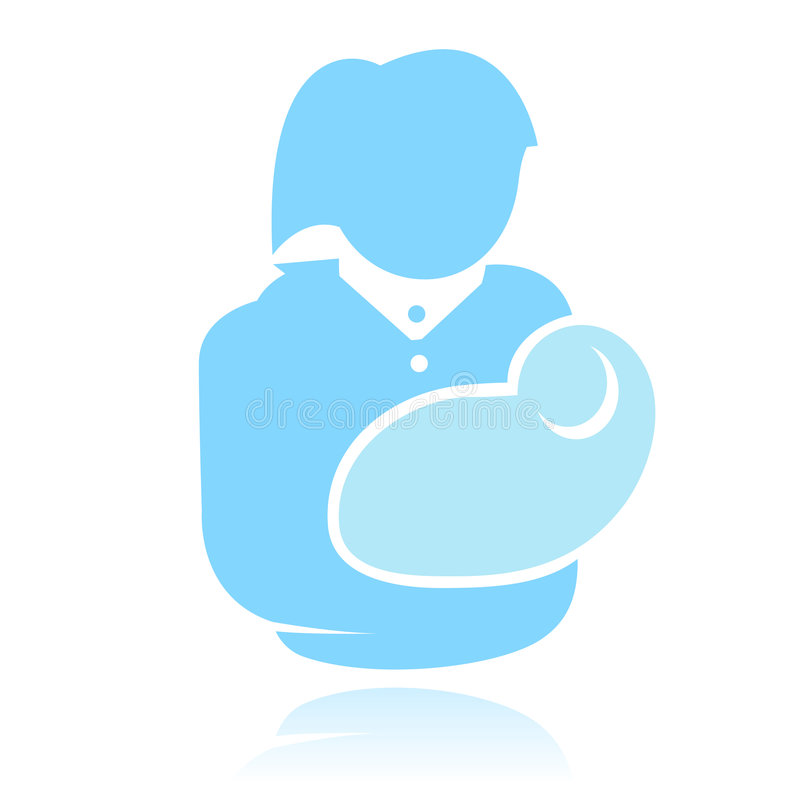 Download A Mother With Child Logotype Stock Vector - Image: 6731319
