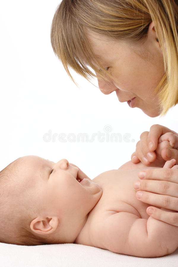 Download Mother Talking To Her Child Stock Image - Image: 14114517
