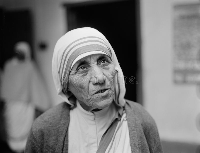Mother Teresa photographie stock libre de droits