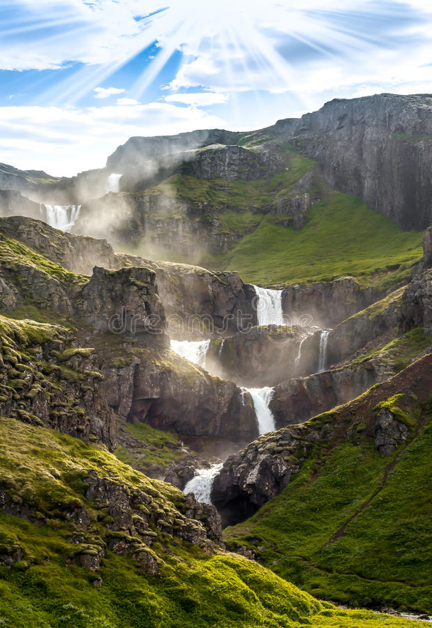 Mother of Waterfalls stock photography