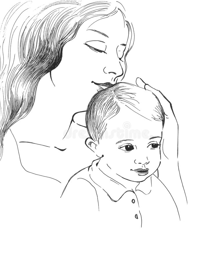 Free Mother With Child Stock Photography - 6449042