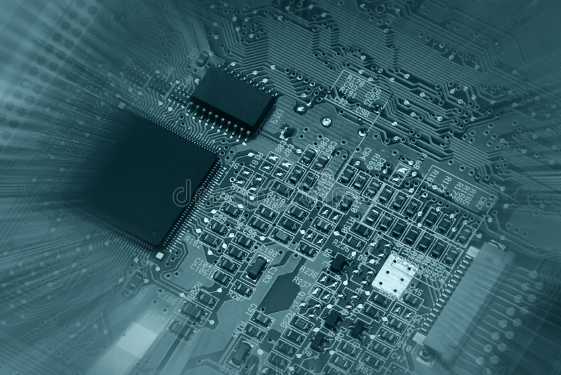 Motherboard - 2 stock images