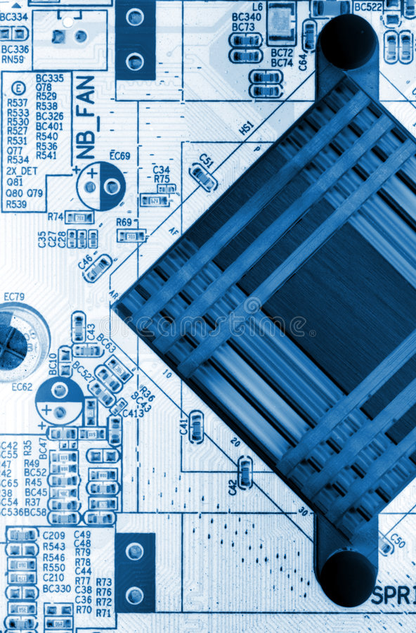 Download Motherboard Royalty Free Stock Image - Image: 6031236