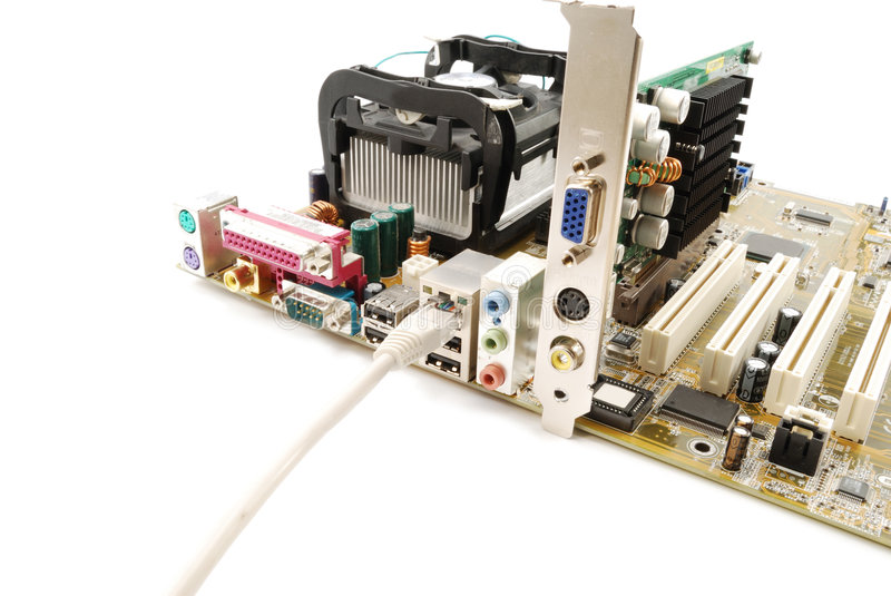 Download Motherboard stock photo. Image of network, chip, computer - 7231118