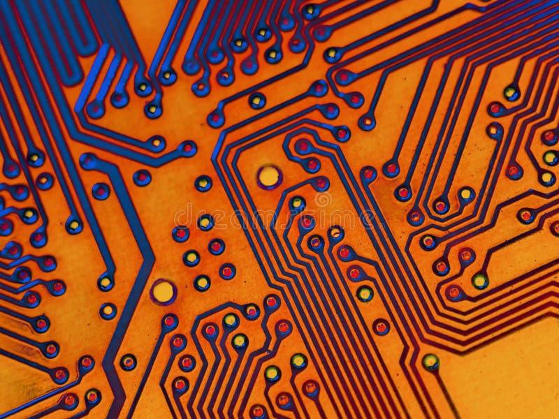 Motherboard AchtergrondTextuur vector illustratie