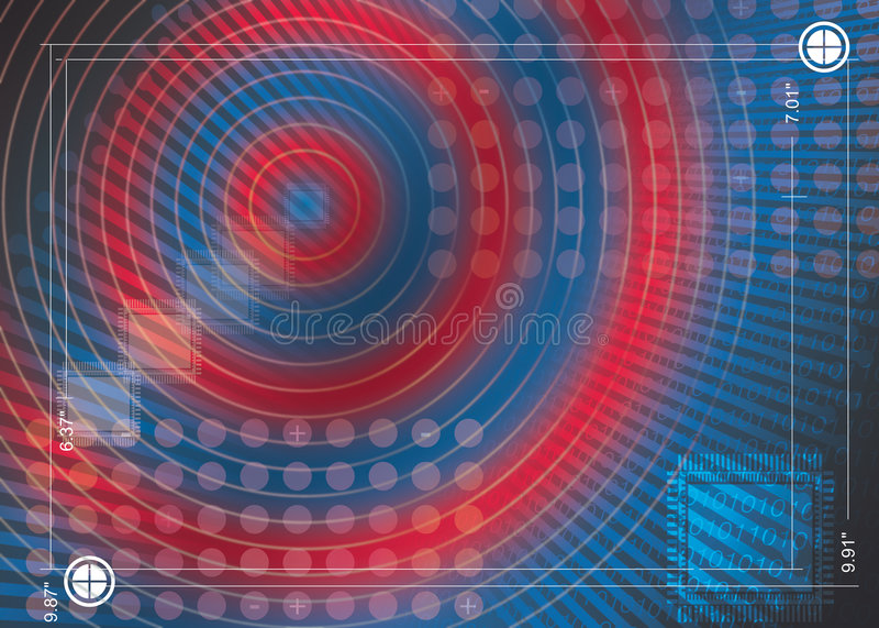 Motherboard imagine. Abstract background for technology, idea from motherboard stock illustration