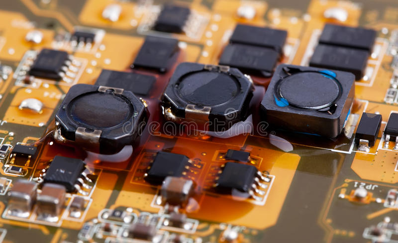 Download Motherboard with liquid stock image. Image of repair - 24369739