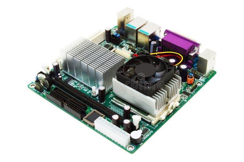Motherboard Mini-ITX lizenzfreie stockfotografie