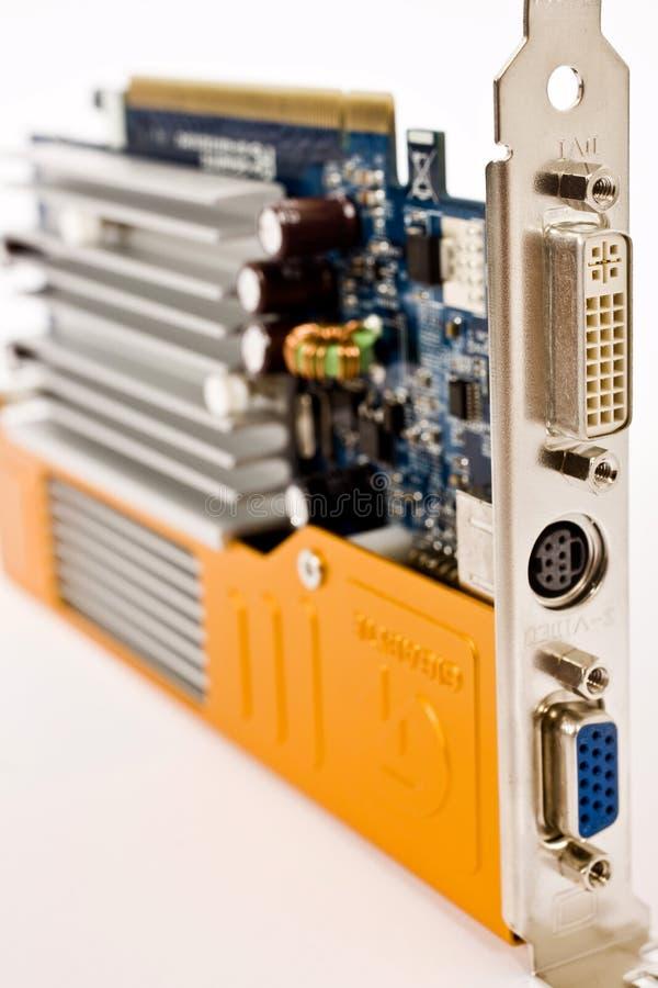 Motherboard mit Einheiten stockfoto