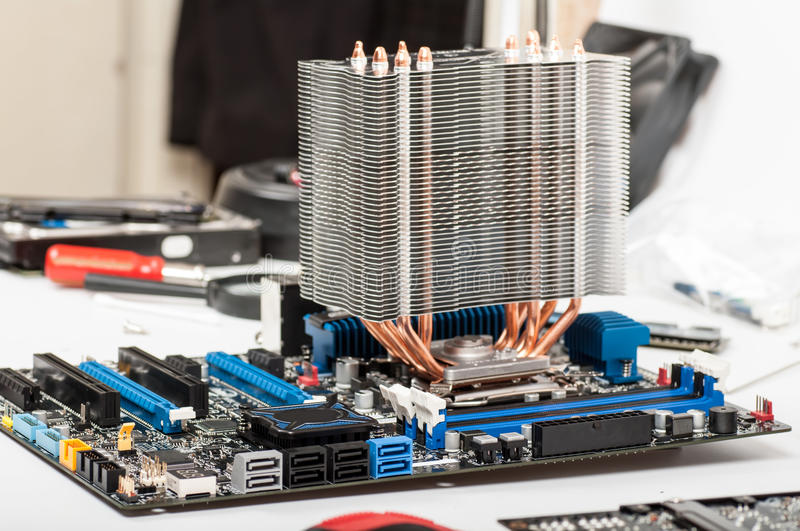 Motherboard's computer stock images