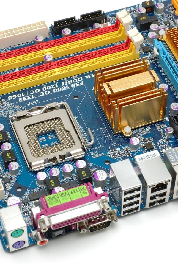 Motherboard van de computer royalty-vrije stock foto's