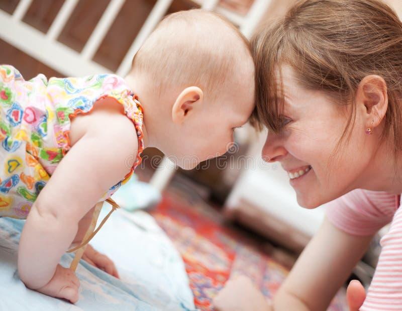 Download Motherhood stock image. Image of couple, girl, happy - 14410493