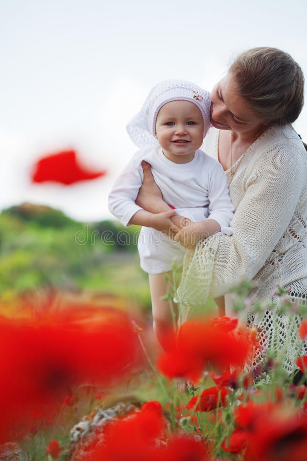 Download Motherhood stock image. Image of cute, leisure, nature - 24161411