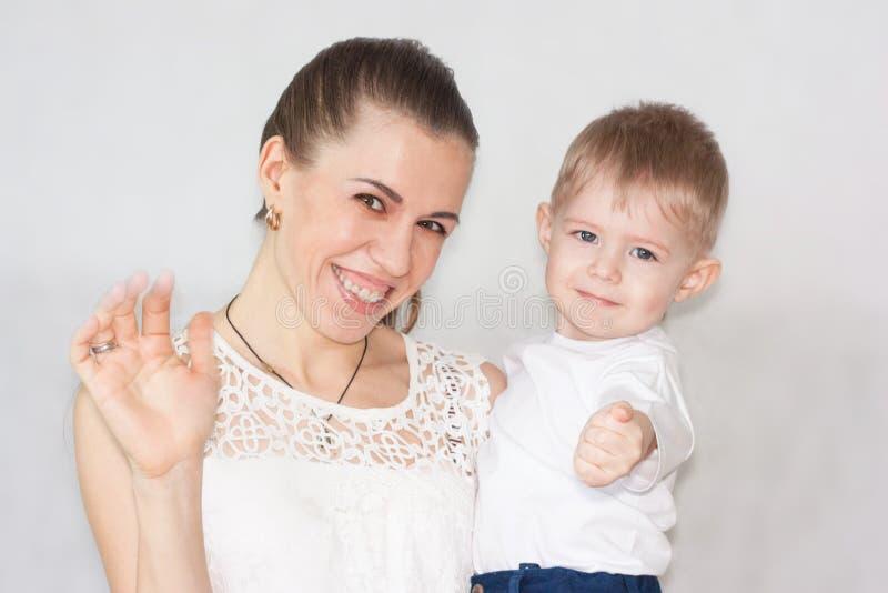 motherhood Matriz e bebê imagens de stock royalty free