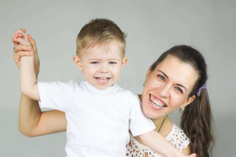 motherhood matriz e filho fotografia de stock royalty free