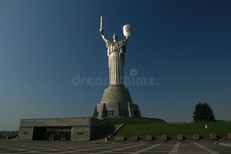 Motherland memorial royalty free stock photo
