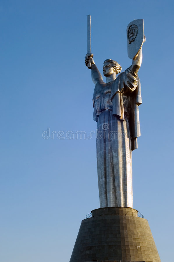 Motherland Monument royalty free stock images