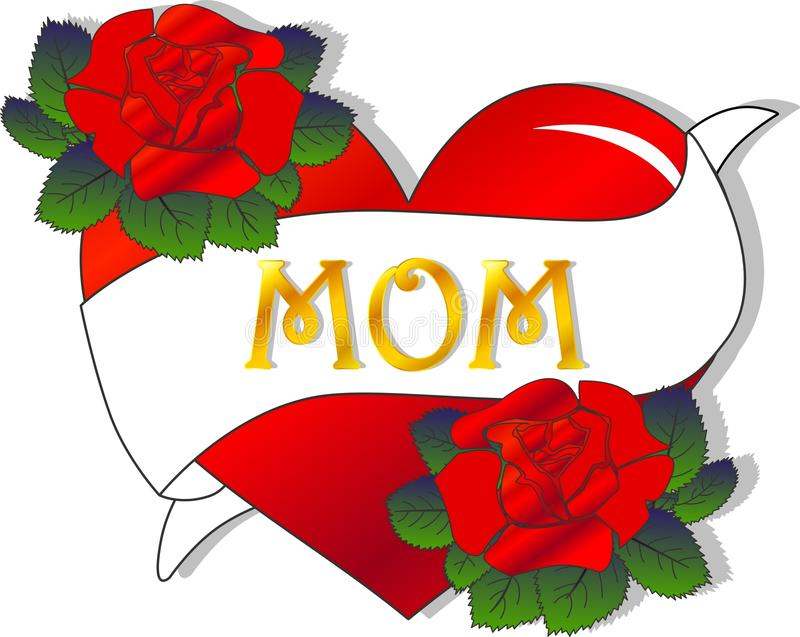 Download Mothers day stock illustration. Image of decorative, elements - 24880879