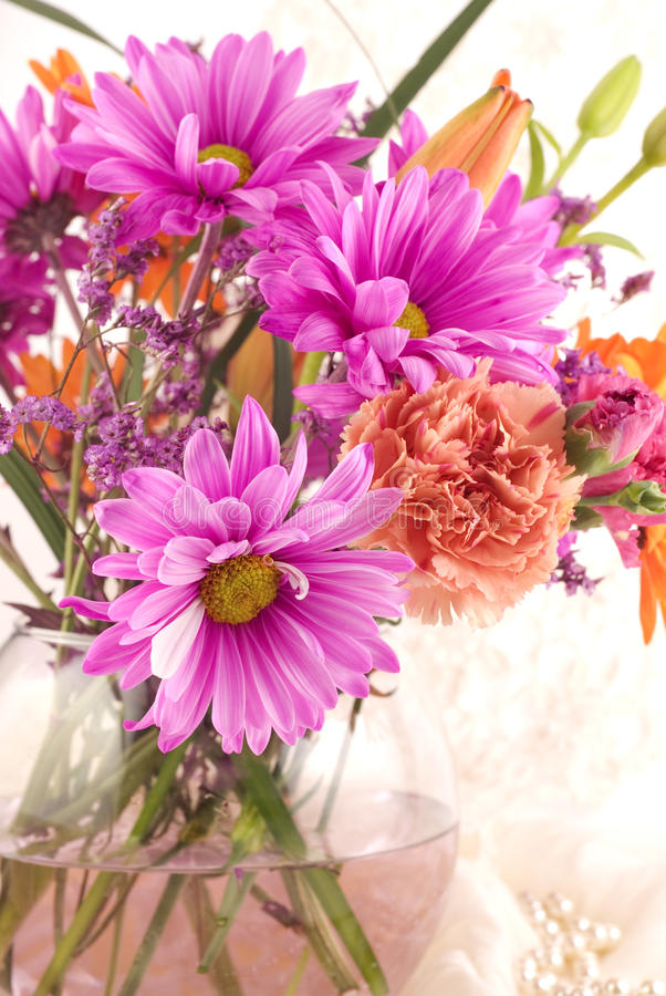 Download Mothers Day Flower Arrangement Stock Photo - Image: 12846546