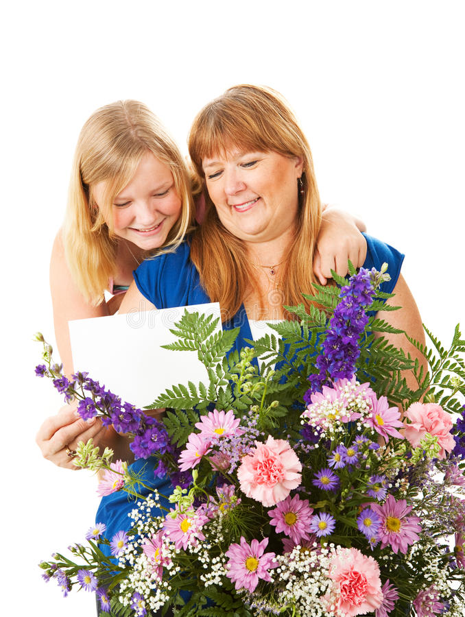 Mothers Day Gift stock photo