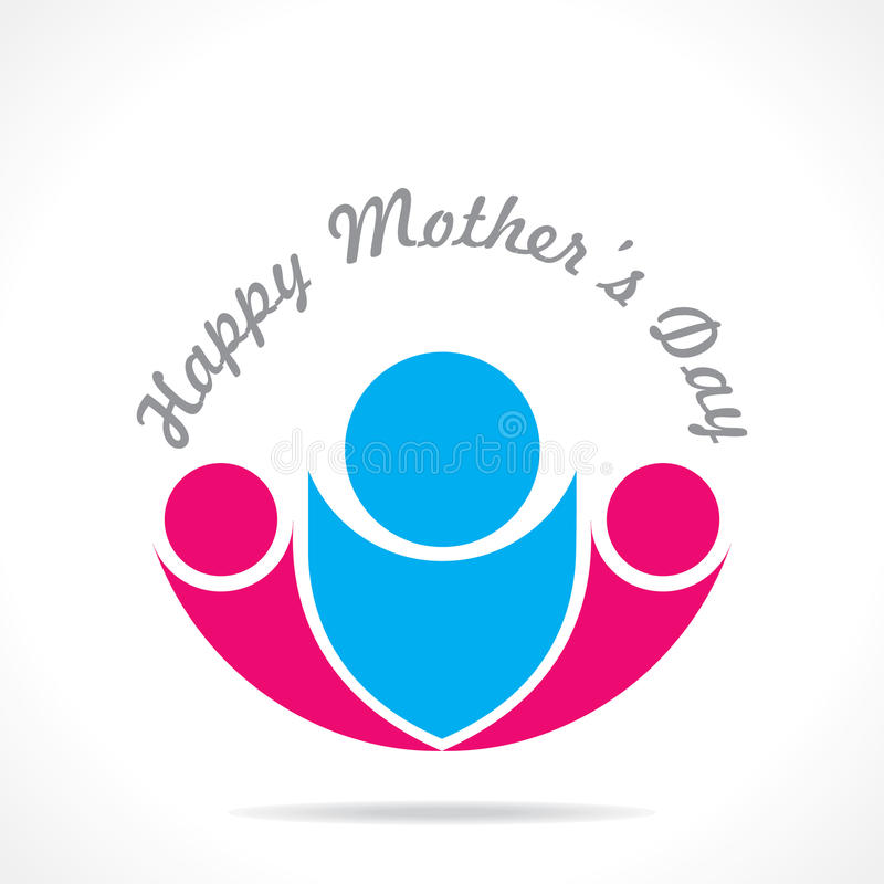 Download Mothers day icon design stock vector. Illustration of family - 30321559