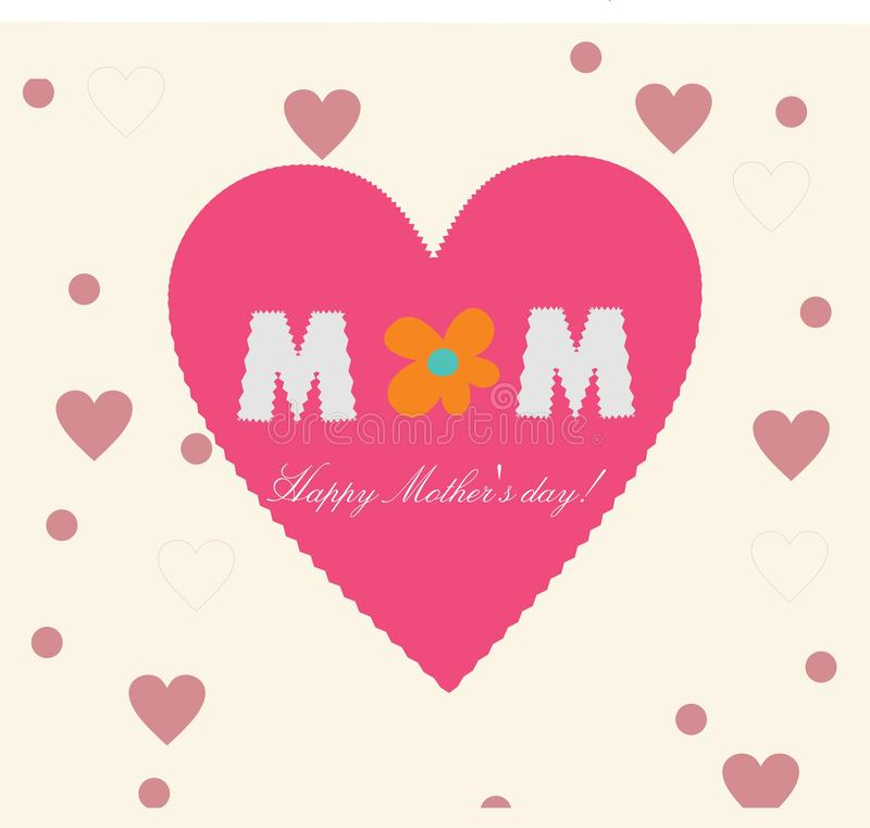 Mothers day love heart