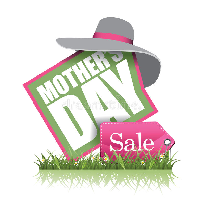 Mothers Day sale icon EPS 10 vector stock illustration