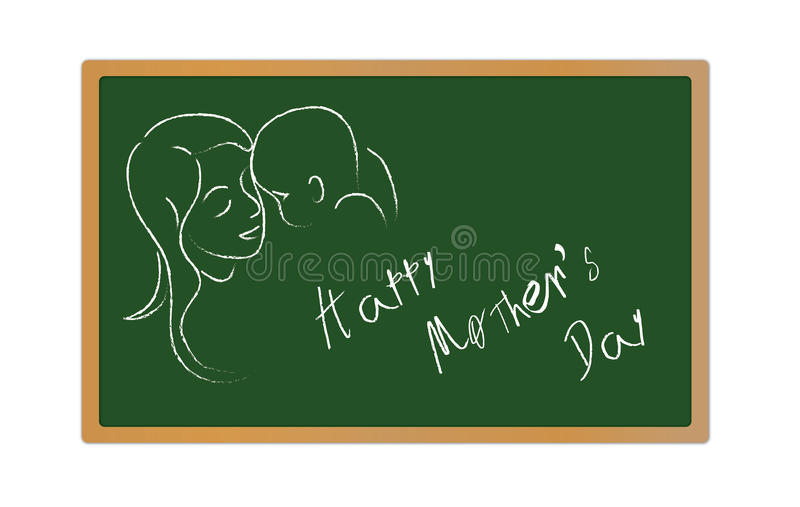 Mothers day royalty free illustration