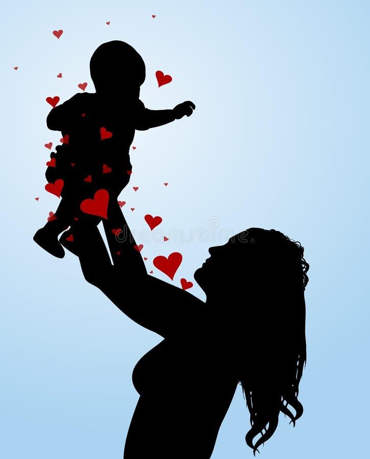 Mothers Love stock photos