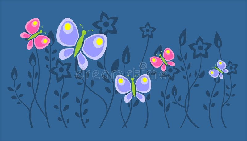Download Moths stock vector. Illustration of fresh, pattern, beautiful - 2296428