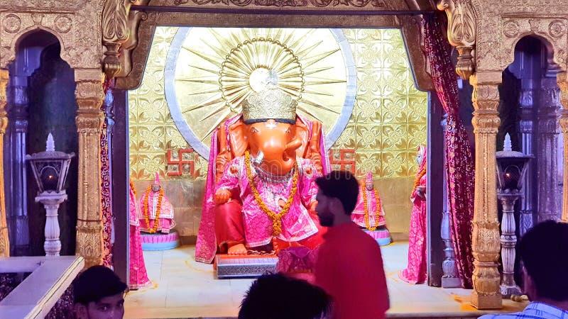Moti Dungri Temple von Lord Ganesha stockfotografie
