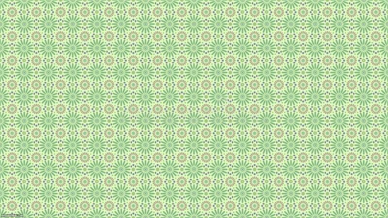 Motieven van het Arabesque de naadloze patroon geschikt voor de stof of het behangontwerp van de damaststijl vector illustratie