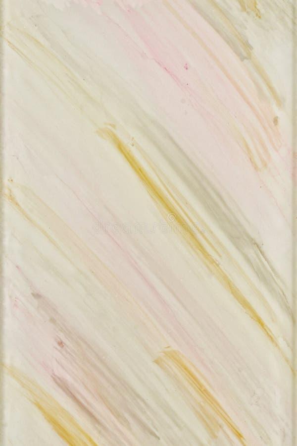 Motif abstrait sur la tuile peinte par blanc Belles bannières peintes de conception de surface images stock