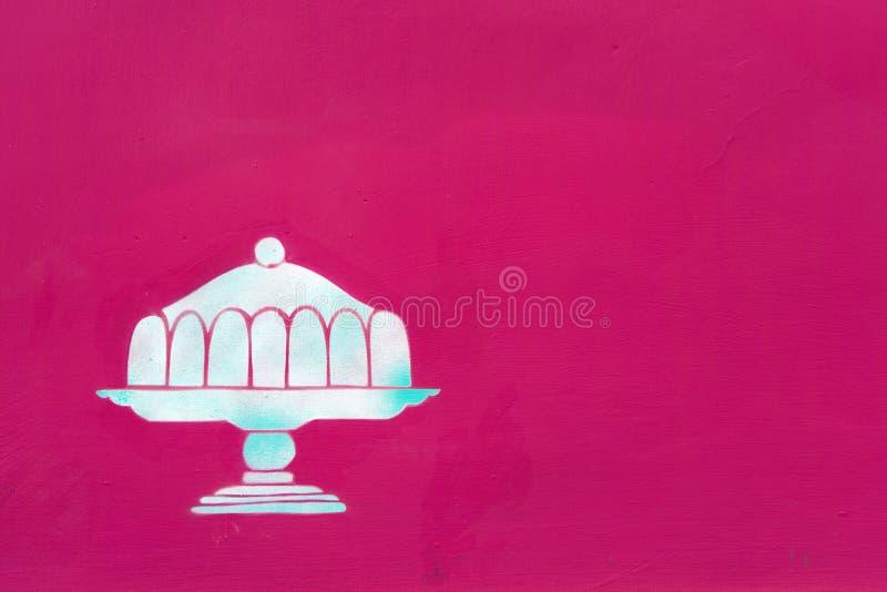 Motif de tarte comme décor photographie stock libre de droits
