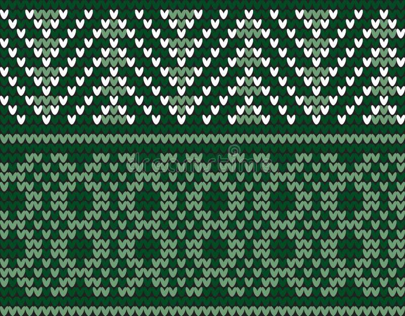 Motif de tricotage traditionnel sans couture images libres de droits
