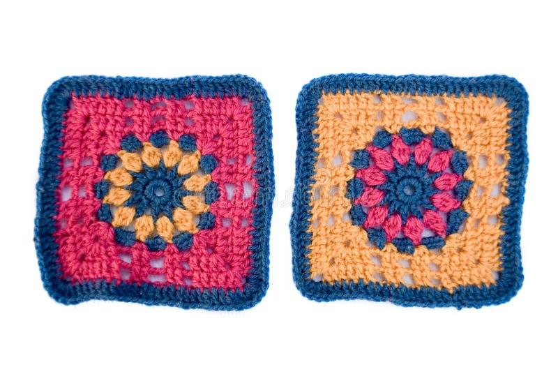 Motifs de crochet photographie stock libre de droits