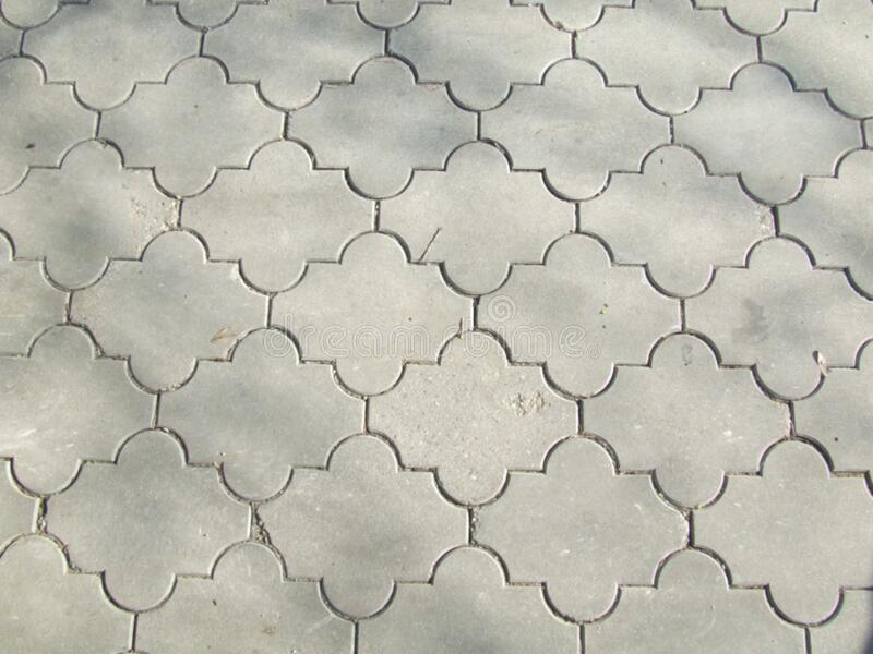 motifs-pavement royalty free stock photos