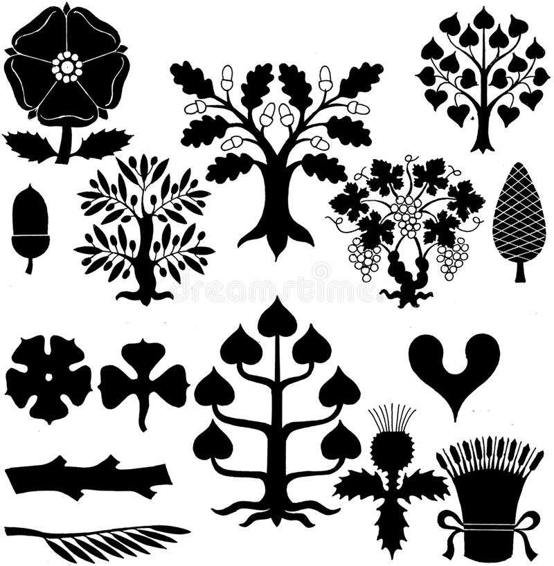 motifs-005-PJ royalty free stock image